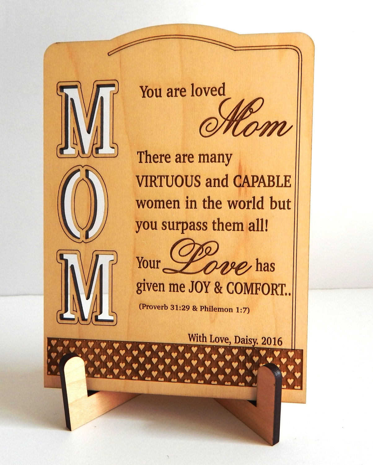 Birthday Gift For Mom From Daughter Son Personalized