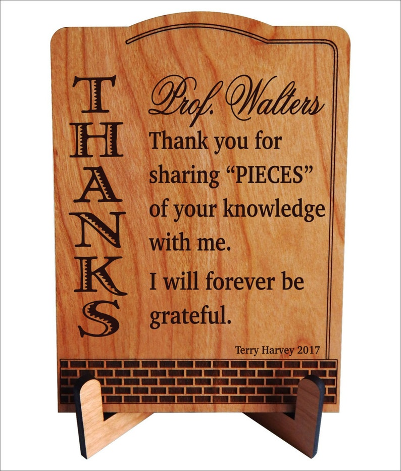 Mentor Teacher Gift  Personalized Appreciation Gifts for image 0