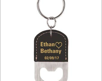 Wedding Gift for Couple Personalized - Husband Anniversary Key chain, LKC006