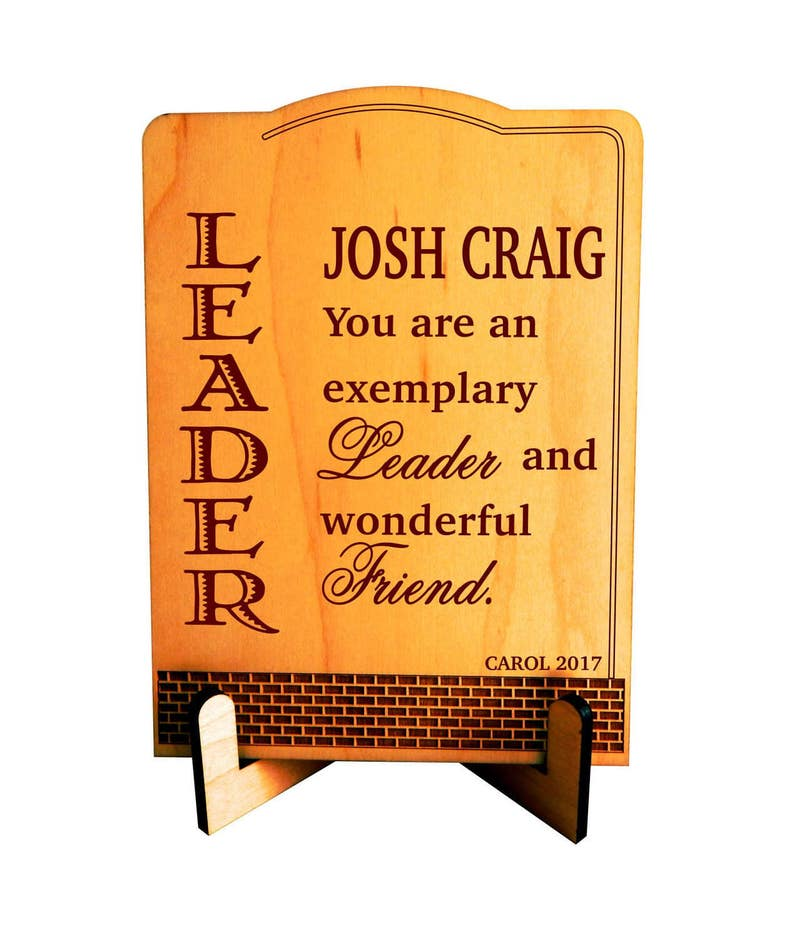 Leadership Gift  Gifts for Leader  Supervisor Thank you Gift image 0