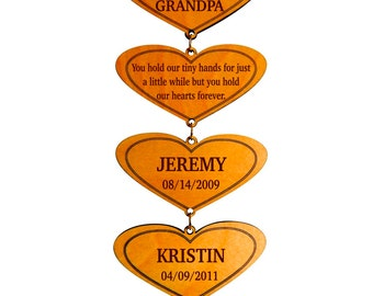 Gift for Grandparents - Christmas Gifts for Grandpa and Grandma - Grandmother & Grandfather Plaque