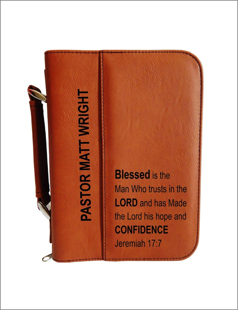 Christian Gifts for Pastor  Men Religious Gift  Personalized image 0