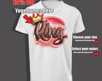 King and Queen Shirt, parchen pullover, king queen tshirt, king queen hoodie, king queen svg