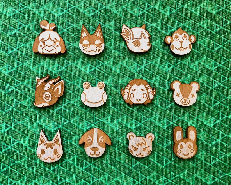 Animal Crossing Pins image 0
