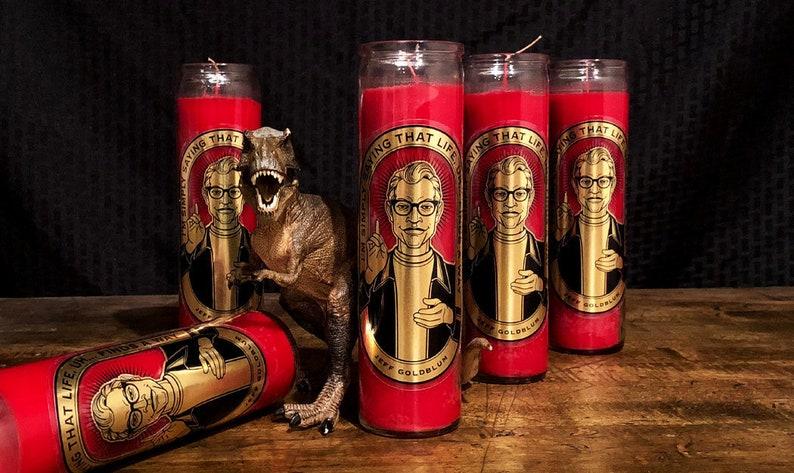 Jeff Goldblum Candle image 0
