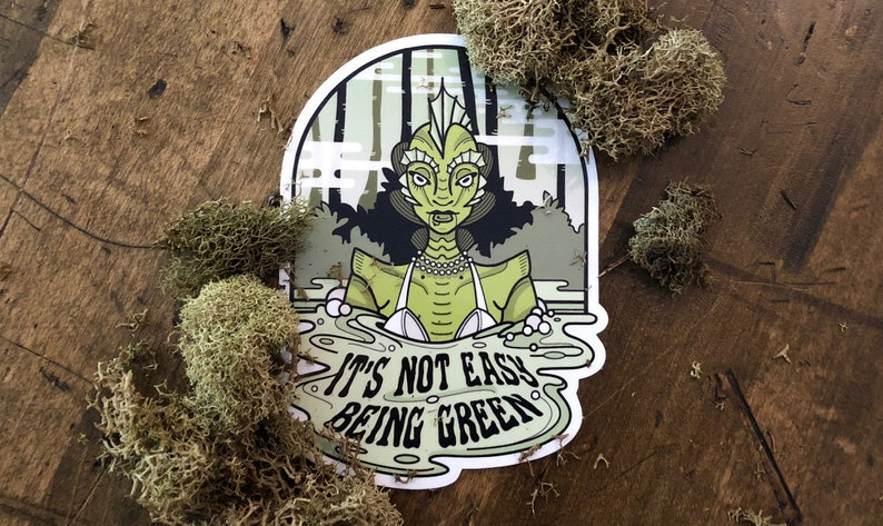 Swamp Thing Sticker image 0