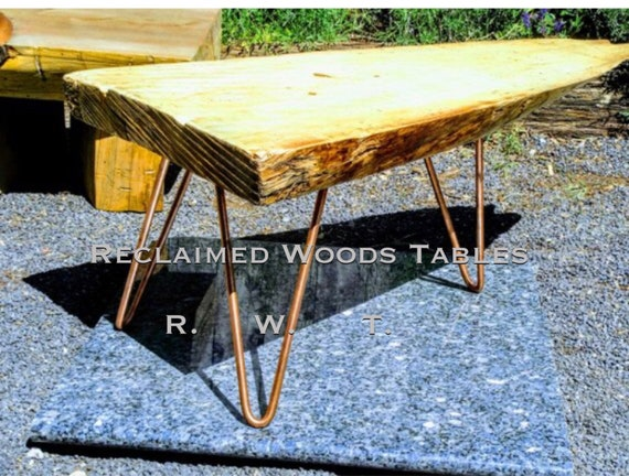 Pleasing Custom Spalted Natural Wood Slab Entryway Bench Coffee Table Copper Hairpin Entry Way Coffee Table Wood Bench Gmtry Best Dining Table And Chair Ideas Images Gmtryco