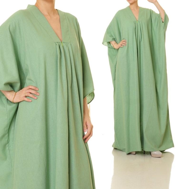 Grünes Oversize Kleid  los angeles 2022