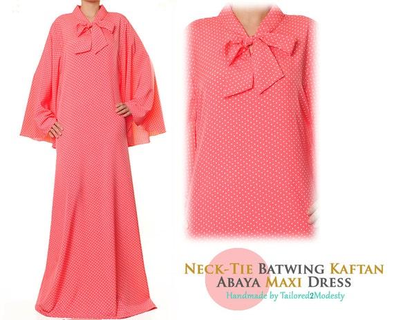 Pink Kaftan Maxi Dress Dubai Kaftan Dress Pink Baby Shower Etsy