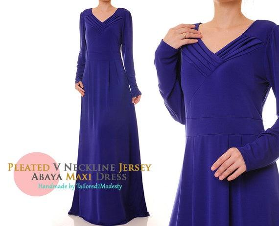Royal Blue Dress | Jersey Abaya Maxi Dress | Long Sleeve Maxi Dress | Plus  Size Maxi Dress | Maxi Dress With Sleeves 6138/2964