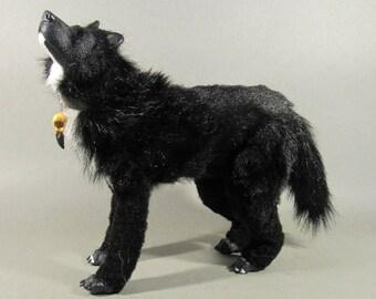 Moon the wolfdog