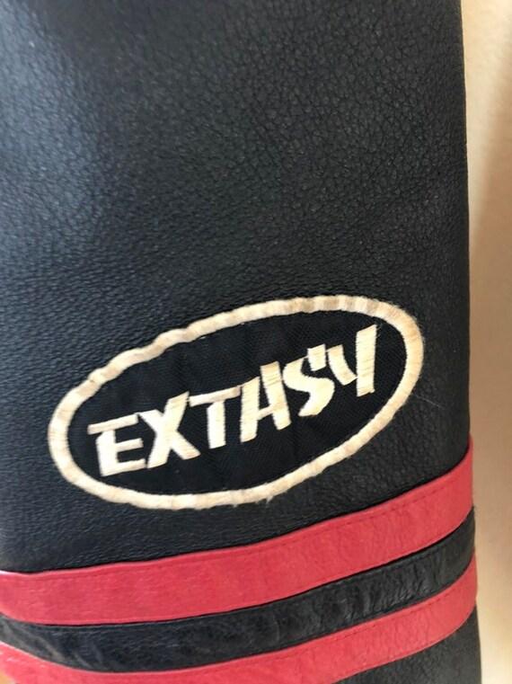 Extacy Leather Racing Jacket - image 9