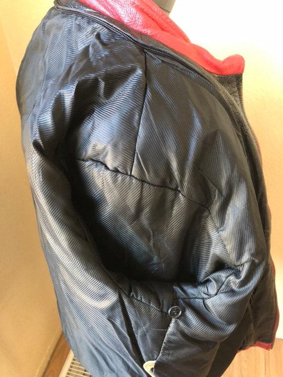 Extacy Leather Racing Jacket - image 2