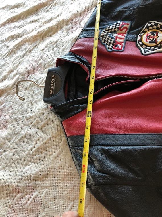 Extacy Leather Racing Jacket - image 8