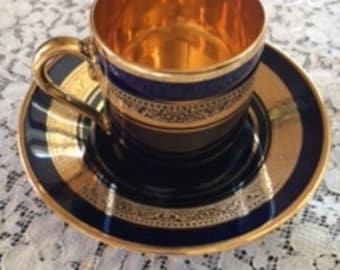 Vintage Limoges Tea Cups