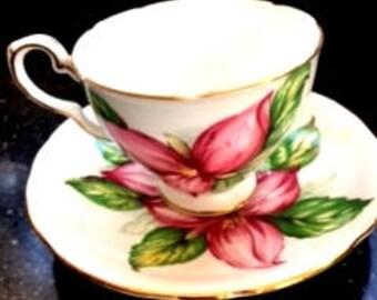 Trillium Tea Cup and Saucer