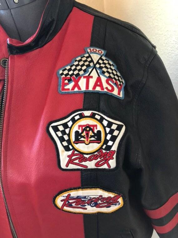 Extacy Leather Racing Jacket - image 6