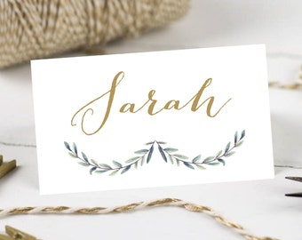 Personalised Printable, Wedding Place Cards,Name Cards, Josie Collection - WC63