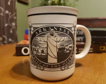ff1c049caec Christ Of The Ozarks Souvenir Cup From Eureka Springs Arkansas