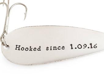 2 year anniversary gift for boyfriend, 2nd Anniversary Gifts for men, 2 year anniversary, 2 years, keychain, Fishing Lure