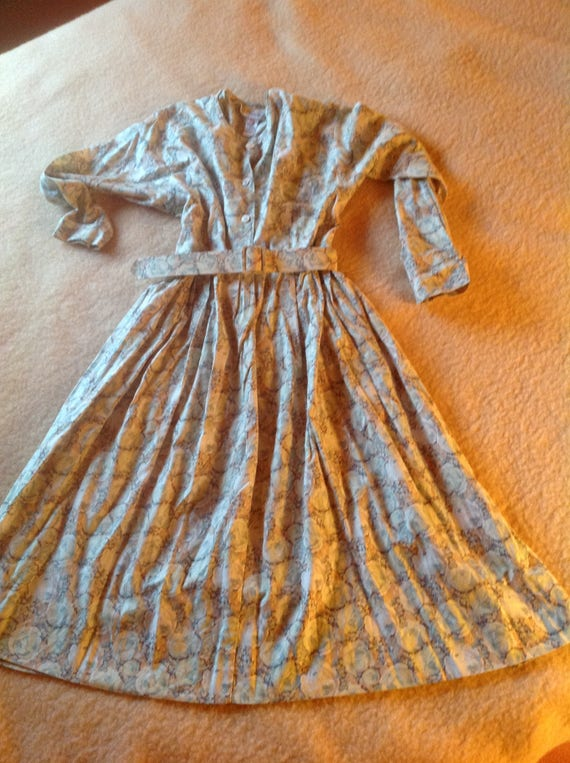 French Spring cotton dress