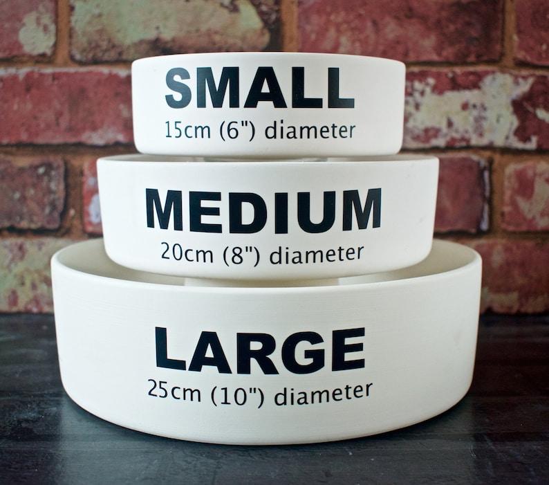 personalised dog bowl stamp bowl cat food dish ceramic dog bowl cat bowl with name dog food bowl cat gift custom dog bowl dog feeder