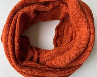 Cashmere - merino snood, Infinity scarf, Cashmere infinity scarf, Knitted scarf, Loop scarf, Cashmere loop, merino snood, lightweight snood