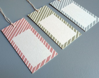 Gift tags in the set of 3