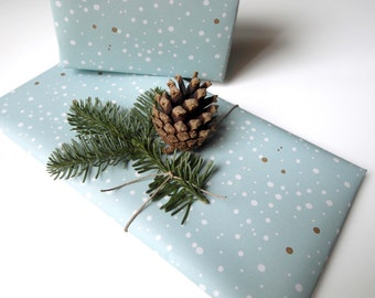 Gift paper/decree paper» snow scolding «