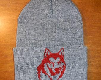 50d534afa21 Husky Embroidered Knit Hat