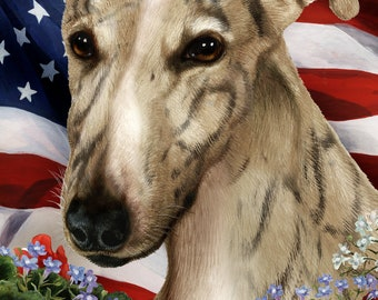 Greyhound Garden Flags