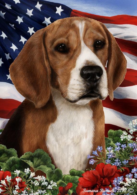 Beagle Garden Flags, Beagle Garden Flag