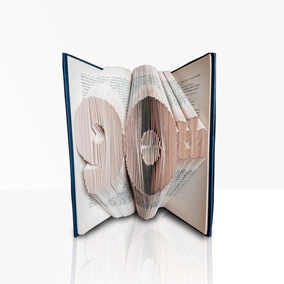 90th book folding pattern template bookami free book etsy