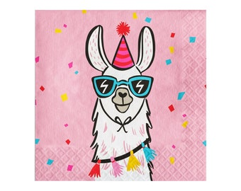 Llama Party Supplies Birthday 1st