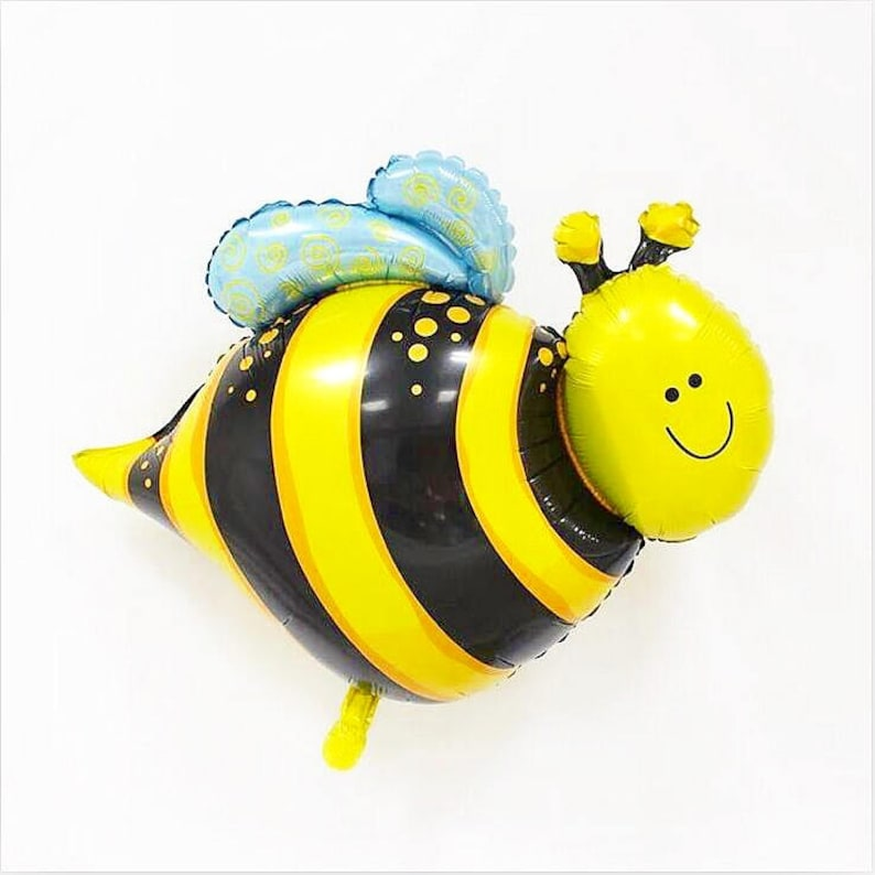 Birthday Party Balloon Party Supplies Bee Decorations Baby Shower Decor Paper and Party Supplies Cute Birthday Party Decor