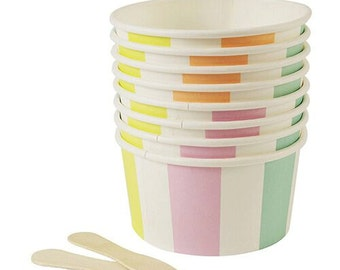 Ice Cream Party | Ice Cream Cups | Ice Cream Party Supplies | Party Supplies | Birthday Party Supplies |