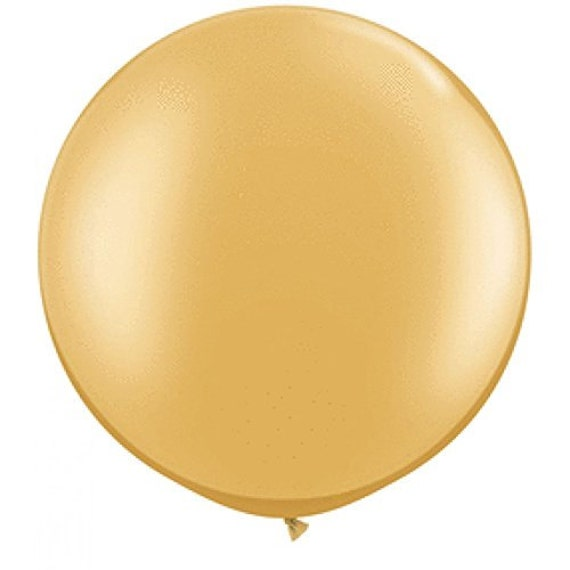 """35/"""" Gold Crescent Moon Baby Birthday Party Decoration"""