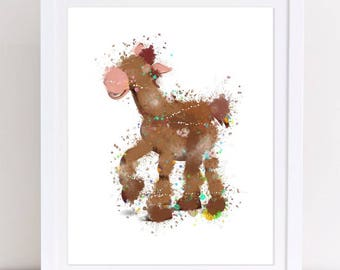 70 Toy Story Unicorn Toy Story Watercolor Watercolor Disney Etsy