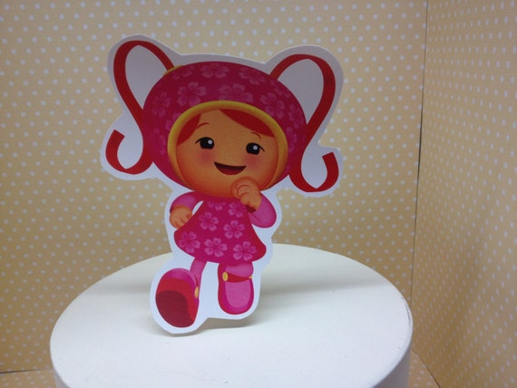 Team Umizoomi Party Cake Topper