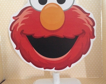 Elmo, Sesame Street Party or Baby Shower Table Decoration