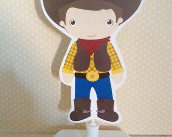 Cowboy and Cowgirl Party Table Decoration