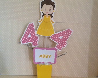 Disney Princess Birthday Party or Baby Shower Centerpiece Decoration