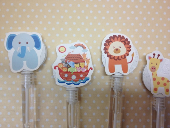 Noahs Ark Party Or Baby Shower Bubble Favors Set Of 10 By Party