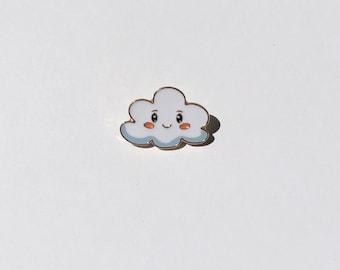 Happy Cloud Pin