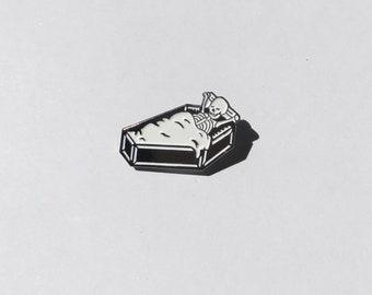 Sleeping Skull Pin