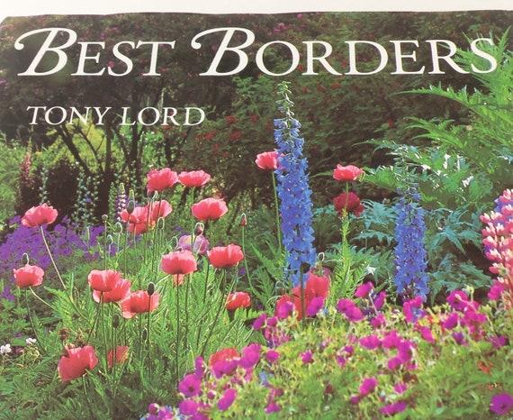 Vintage Gardening Book Classic English 1994 Garden Border Etsy