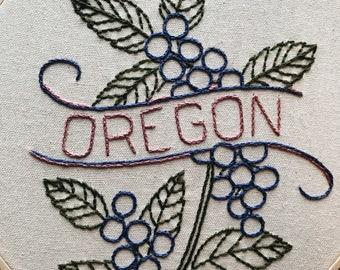 Oregon - Oregon Grape 9'' Hoop