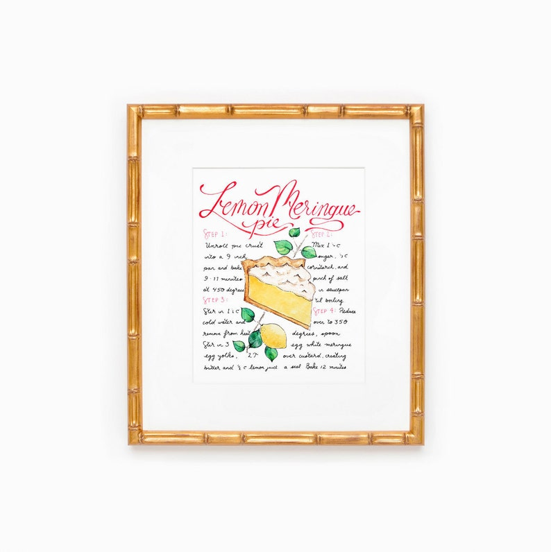 Lemon Print Kitchen Fruit Art Lemon Decor Yellow Home Decor image 0