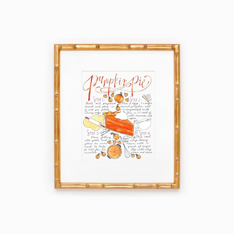 Pumpkin Decor Thanksgiving Table Hostess Gift Holiday Table image 0