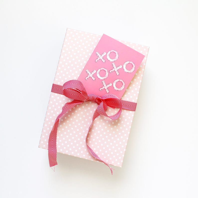XOXO Valentines Day Card Love Note Valentine for Boyfriend image 0